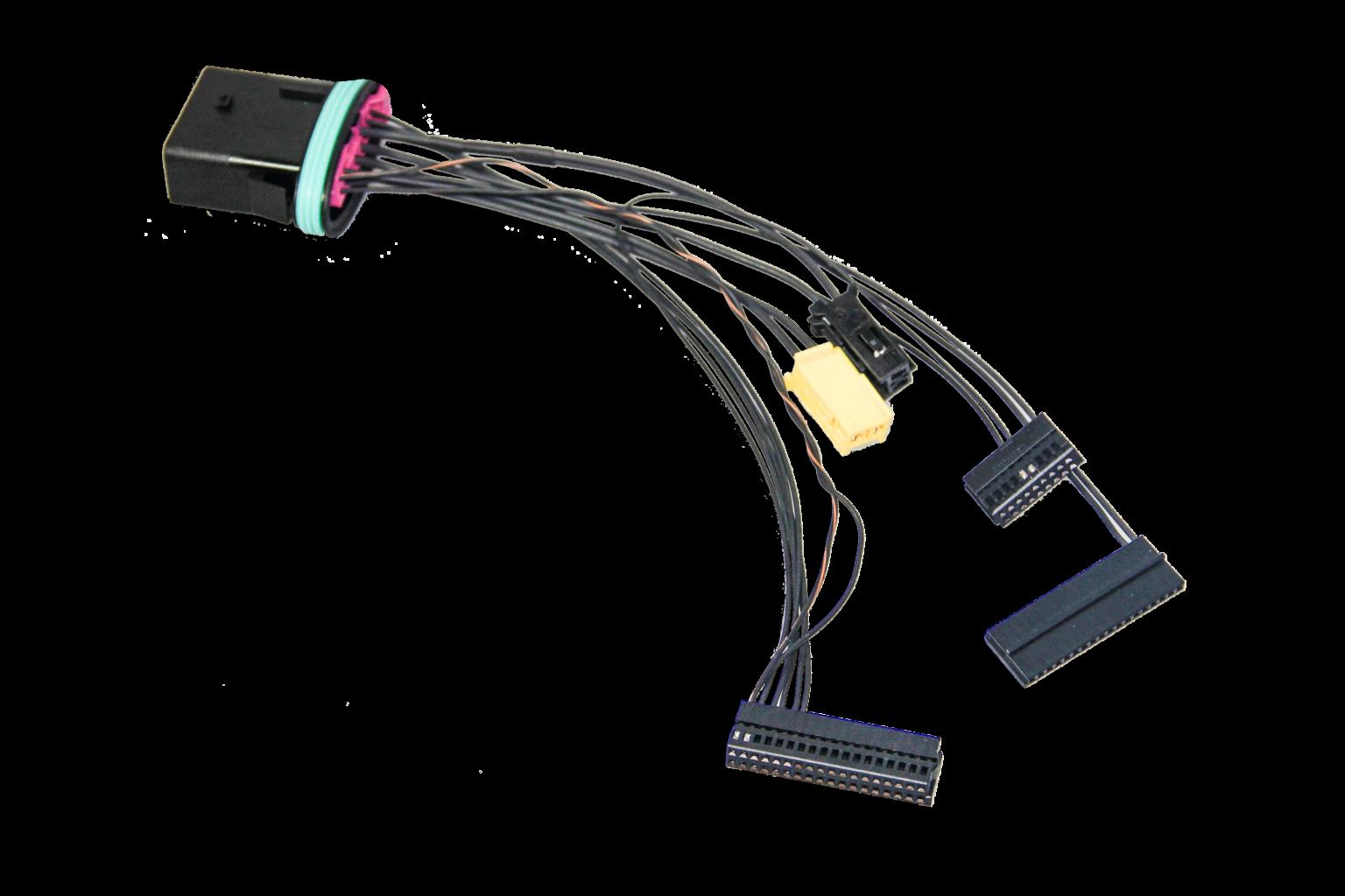 koncovky, kabelové svazky