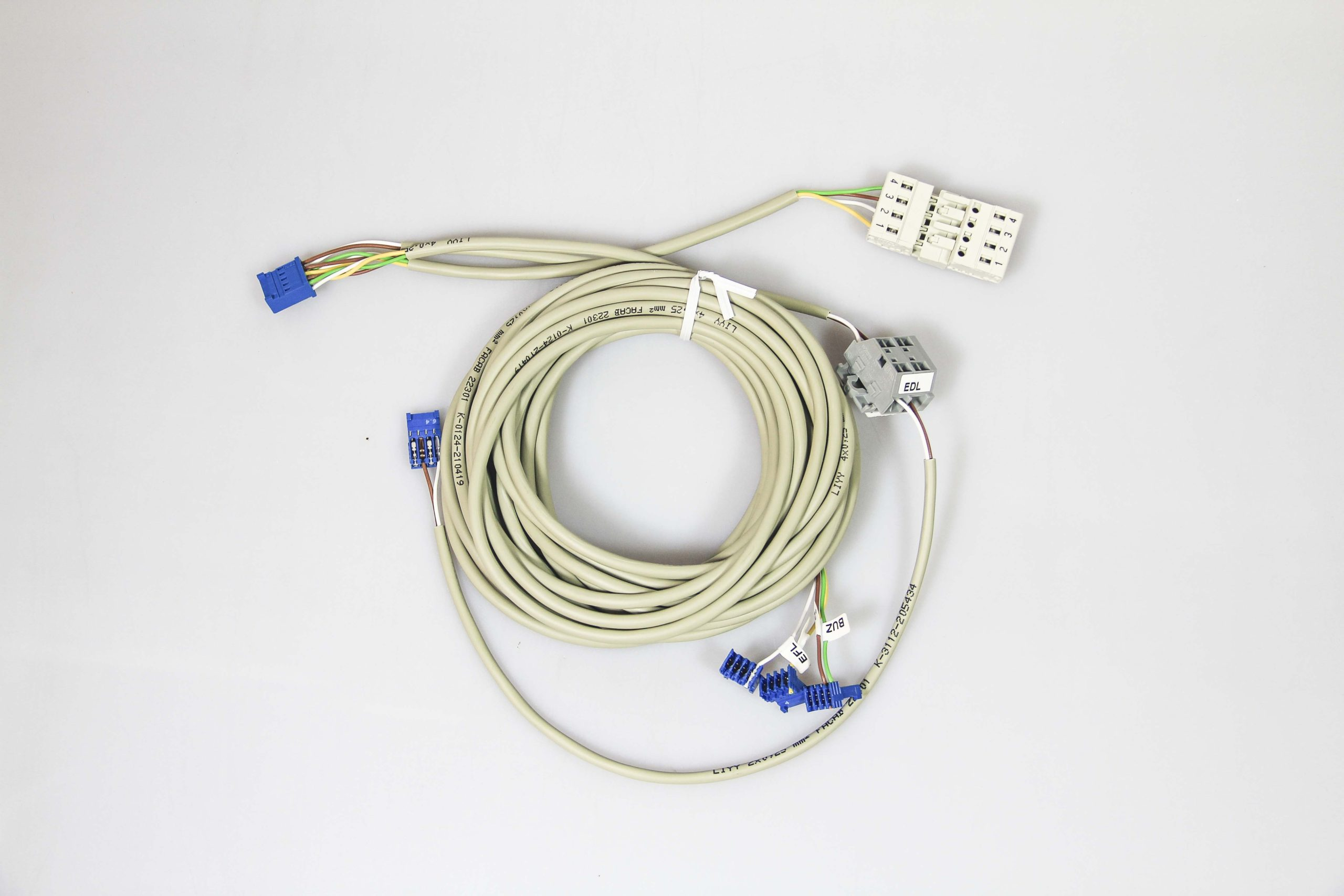 koncovka, kabelový svazek